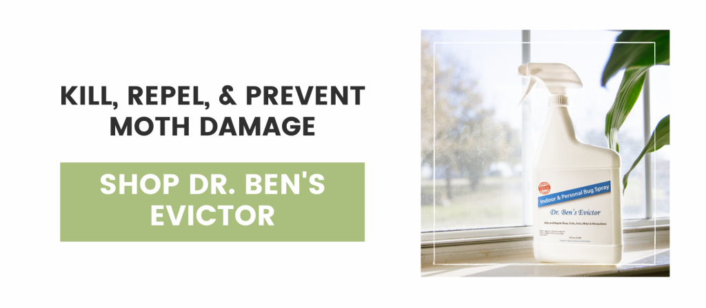 Kill, Repel, & Prevent Moth Damage, Ben's Evictor